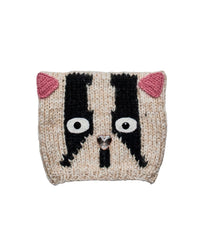 Hats - Jeweled Cat Knit Cap
