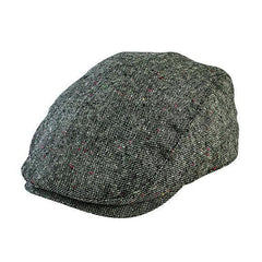 Hats - Kids Tweed Flat Cap