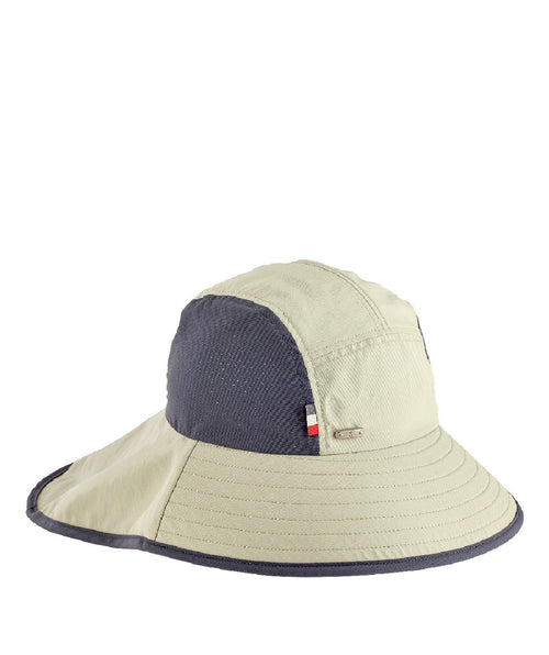 Hats - Mens Outdoor Perf Inset And Neck Flap Hat
