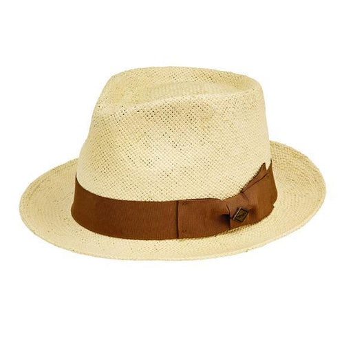 Hats - Mens Pinched Crown Fedora