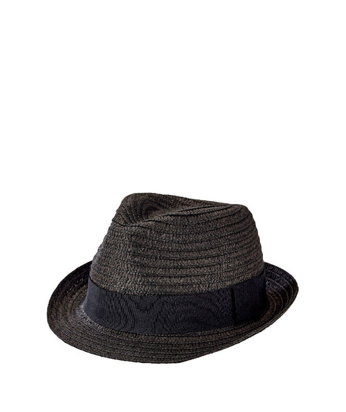 Hats - Mens Ultrabraided Fedora With A Grosgrain Band