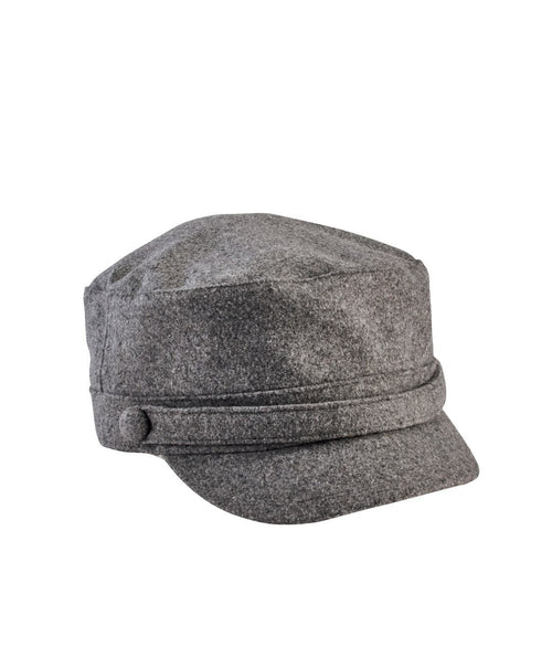 Hats - Omen's Cadet Cap With Self Buttons
