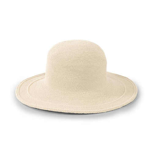 Hats - San Diego Hat Company's Original Women's Cotton Crochet Large Brim Hat