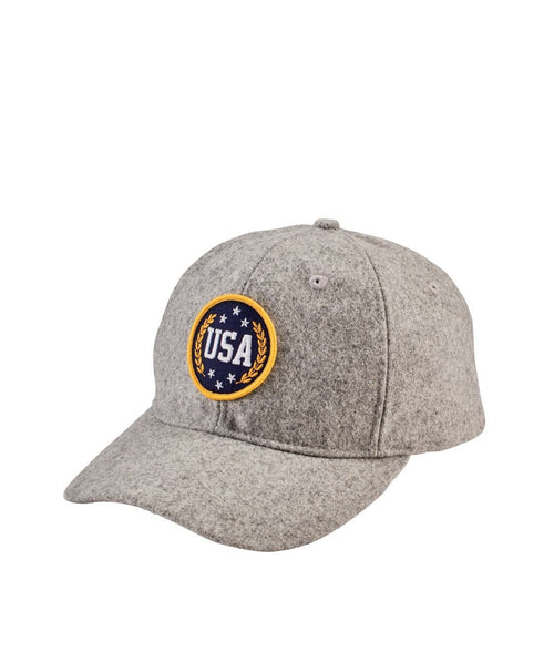 Hats - Silverwave Heathered Grey USA Ball Cap
