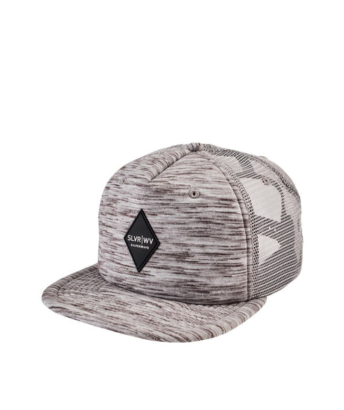 Hats - Silverwave Marled Grey Trucker Hat