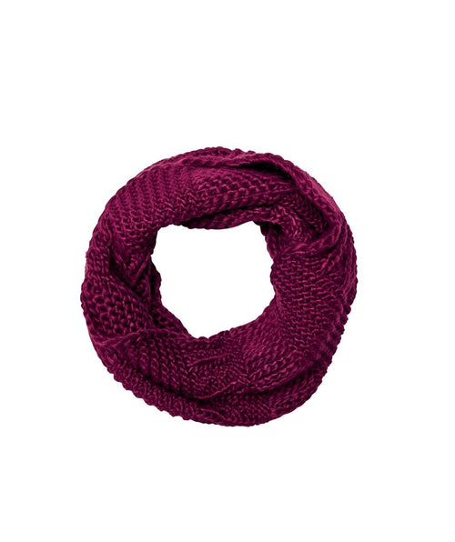 Hats - Solid Chunky Eternity Scarf