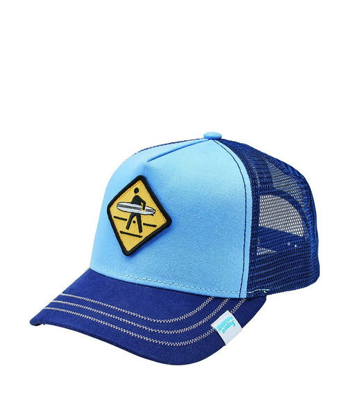 Surfer Patch Trucker Hat w/ Hic Woven (CTH8071)