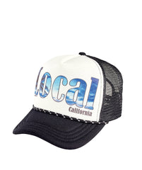 "Hats - Unisex Sublimated ""Local"" Trucker"