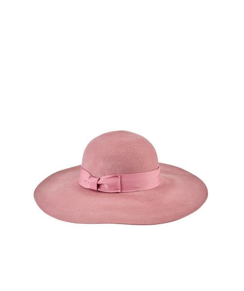 Hats - Women's Brushed Wool Floppy Fedora