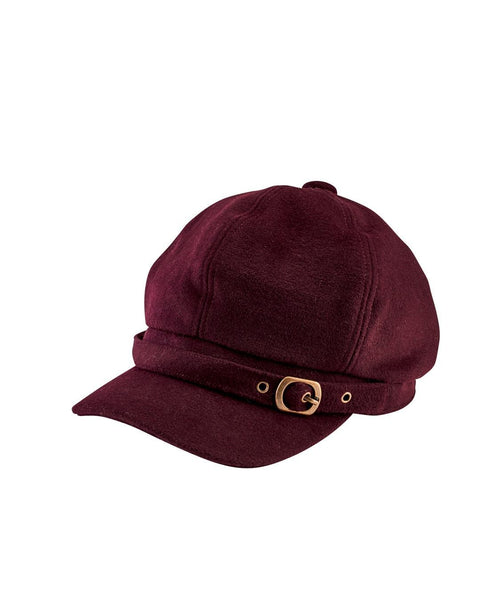 Hats - Women's Cabble With Metal Buckle