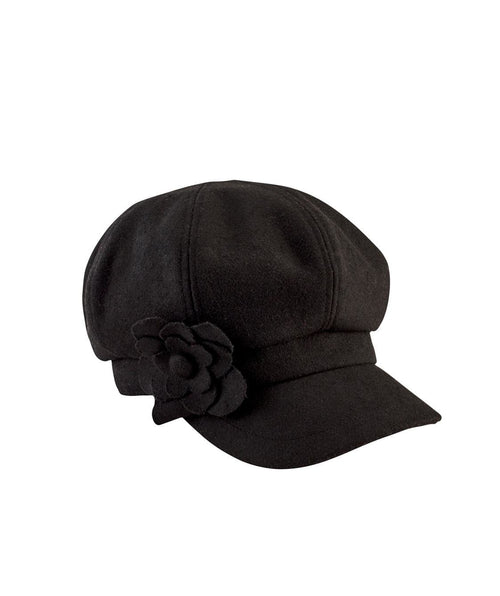 Hats - Women's Cap With Flower