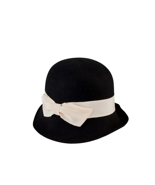 Hats - Women's Cloche With Bow