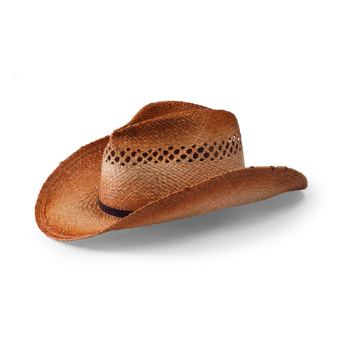 Women's Cowboy Hat with Leather Trim (RHC1070)