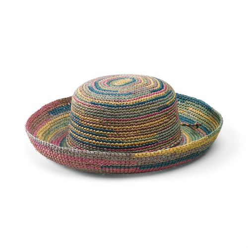Women's Crocheted Raffia Hat (RHL10)
