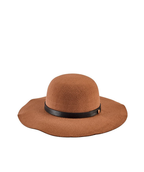 Hats - Women's Faux Wool Felt Floppy