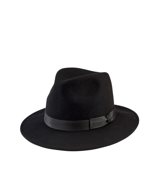 Hats - Women's Fedora With Bow