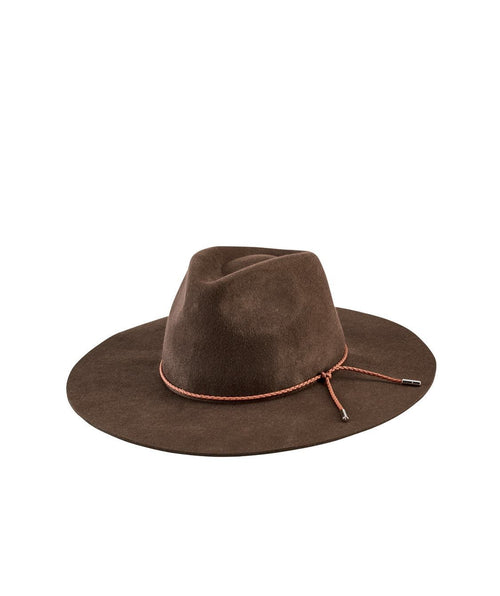 Hats - Women's Floppy Fedora With Braided Trim