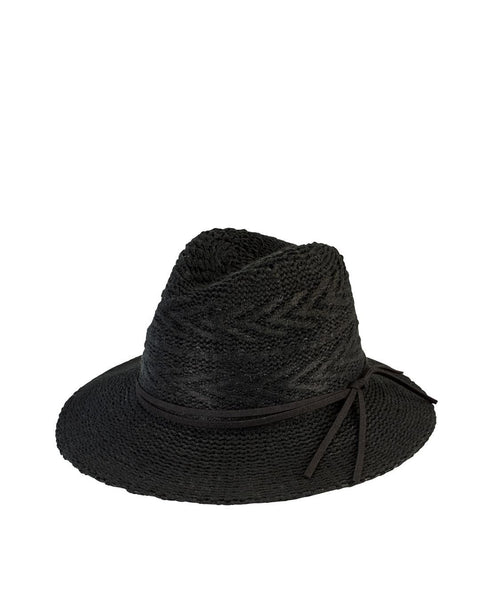 Hats - Women's Knit Pattern Fedora