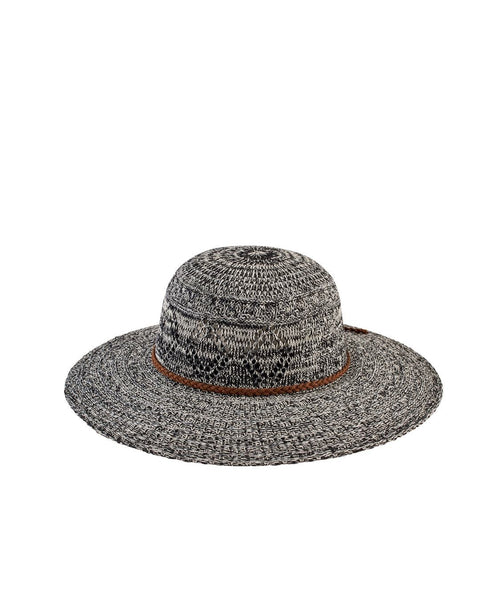 Hats - Women's Marled Knit Floppy