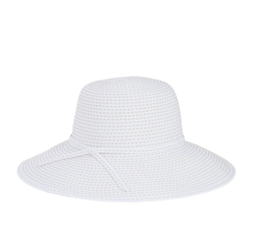 Women's Ribbon Crusher Medium Brim-Beige (RBM205)