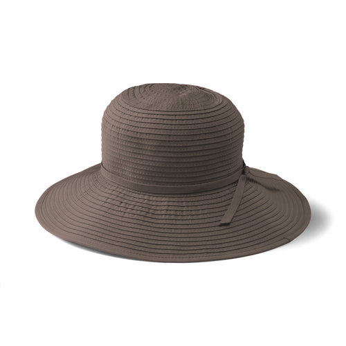 Women's Ribbon Medium Brim Floppy (RBM202)