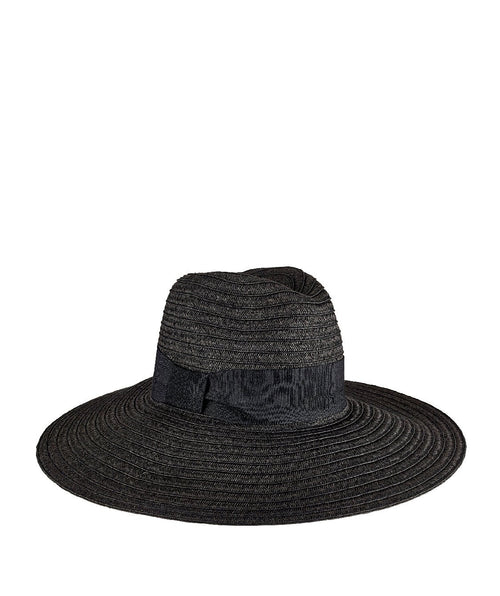 Hats - Women's Ultrabraided Fedora With Knotted Grosgrain
