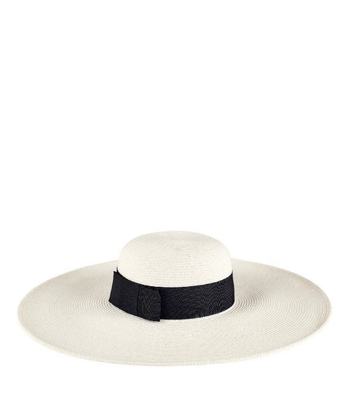 Hats - Women's Ultrabraided Hat Large Brimmed Hat With Ribbon