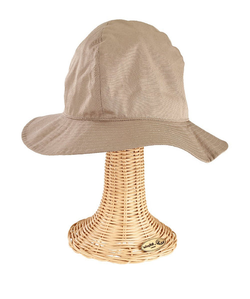 Hats - Womens 4-Panel Bucket W/ Adj Side Buckle