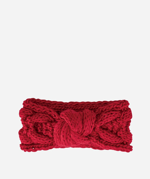 Hats - Womens Cable Knit Knot Headband