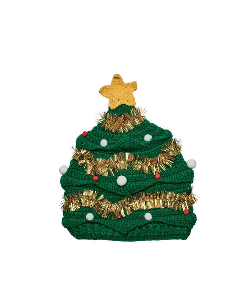 Hats - Womens Christmas Tree Hat