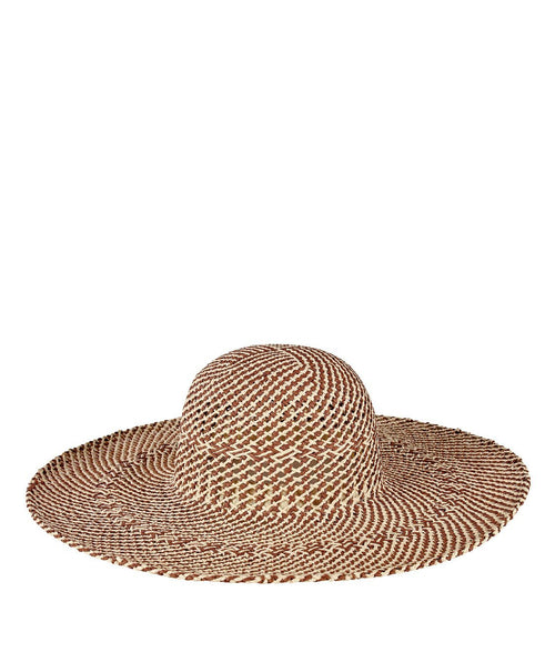 Hats - Womens Open Weave Round Crown Floppy
