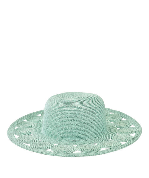Hats - Womens Round Crown W/ Circular Details