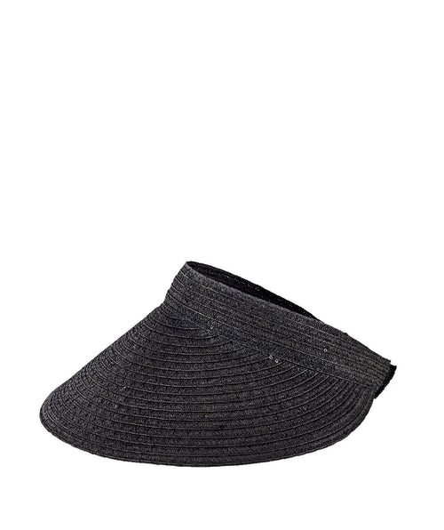 Hats - Womens Ultrabraided Large Brim Visor