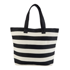 Womens Wide Stripe Tote Bag (BSB1556)