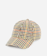 Hats - Womens Wool Blend Houndstooth Cap