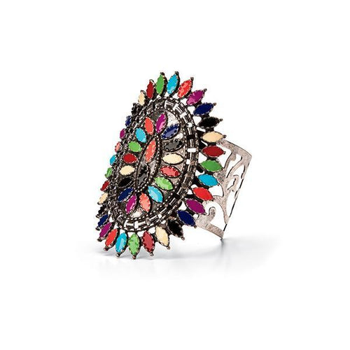 Jewelry - Multi Colored Marquise Cuff