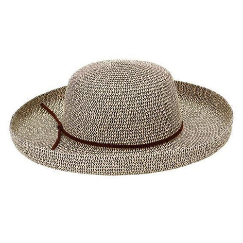 KETTLE BRIM - WOMENS MIXED PAPERBRAID KETTLE BRIM