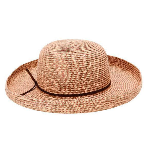 WOMENS MIXED PAPERBRAID KETTLE BRIM (PBL3086)