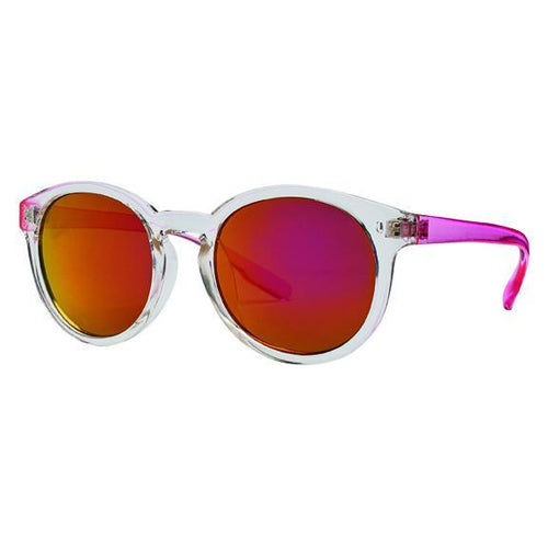 KID'S ROUND FRAME OMBRE W/PINK LENSES