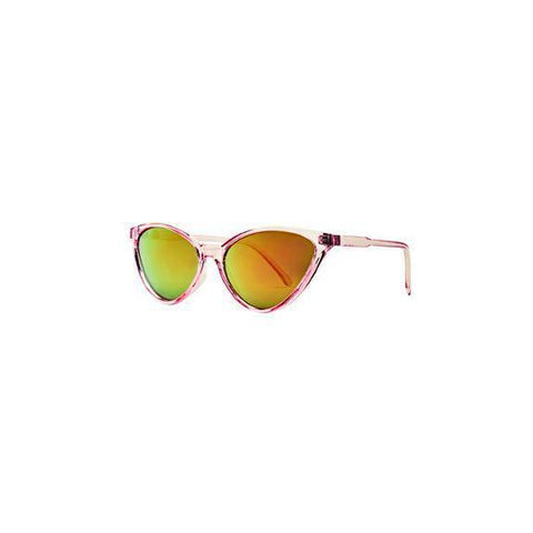 Shield Shape Two Tone Sunglasses (BSG1087)