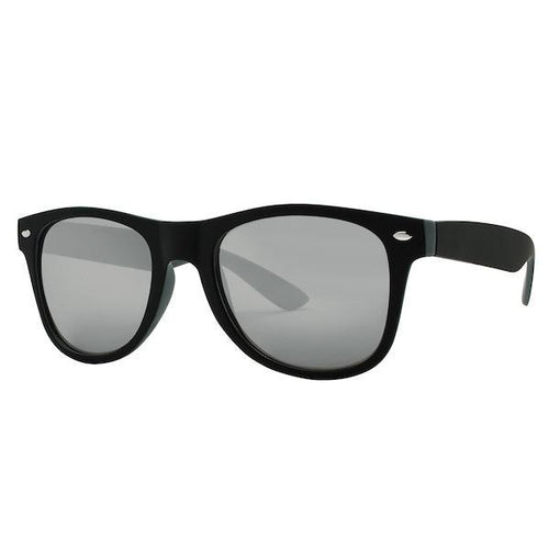 Sunglasses - Silverwave Plastic Matte Frame Sunglasses With Two Tones
