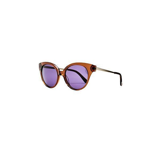 WOMENS ACETATE OVAL SHAPE LENSES SUNGLASSES (BSG1064)