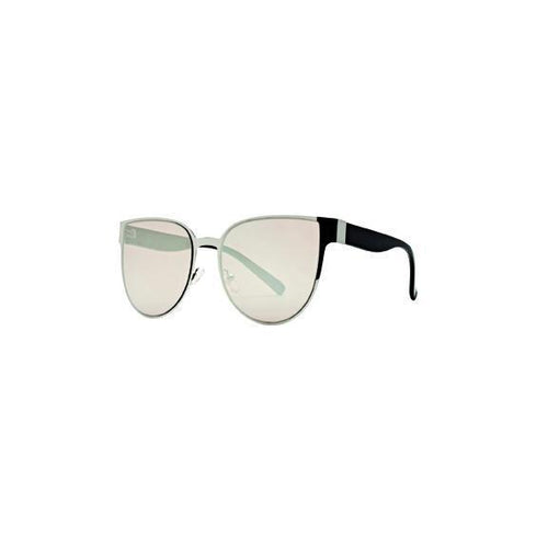 WOMENS MIRRORED CAT EYE SUNGLASSES (BSG1046)