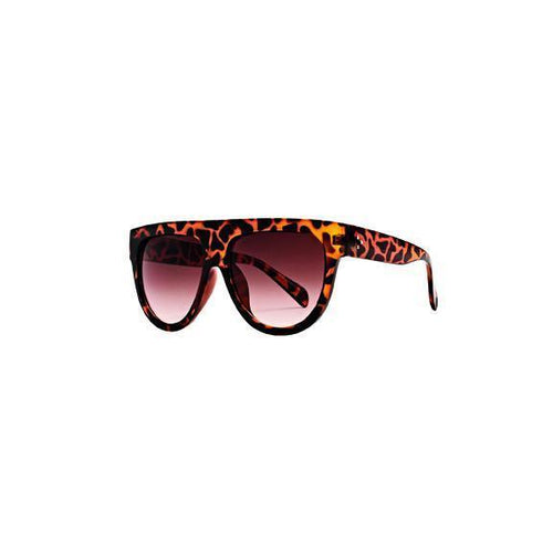 WOMENS PLASTIC SHEILD SHAPE SUNGLASSES (BSG1062)
