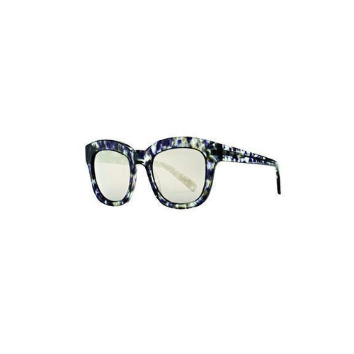 WOMENS SQUARE MIRRORED SUNGLASSES (BSG1067)