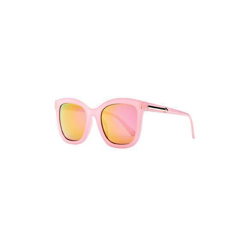 WOMENS SQUARE ROSE GOLD MIRROR LENSE (BSG1041)