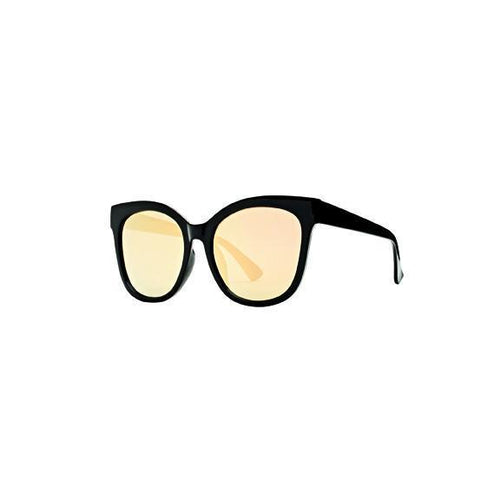 WOMENS  SQUARE SUNGLASSES WITH MIRRORED LENSES (BSG1043)