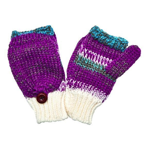 Women's Marled Knit Gloves