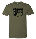 VersaLifts™ logo/slogan tee (Army Green)