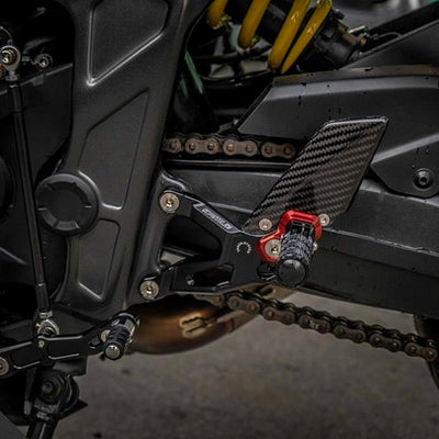 Rearset Adjustable Carbon Fiber Honda CB650R CBR650R 2019-2020